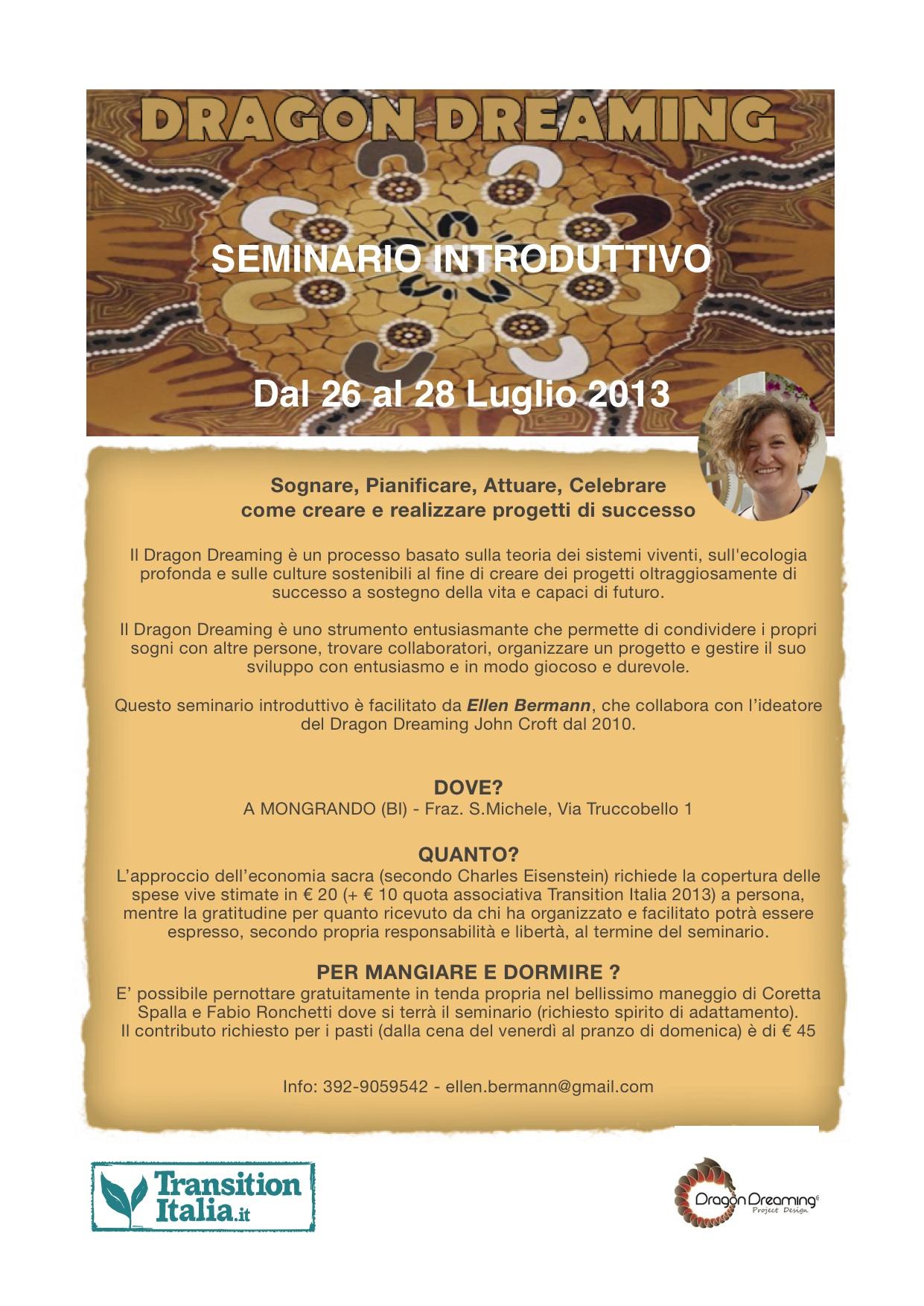 Introduzione al DD 26-28 luglio 2013