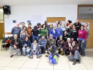 Foto di gruppo al Transition Training di Mestre, Febbraio 2015