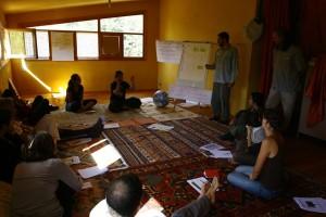 Durante il Transition Training di Montelepre (Palermo), Ottobre 2013