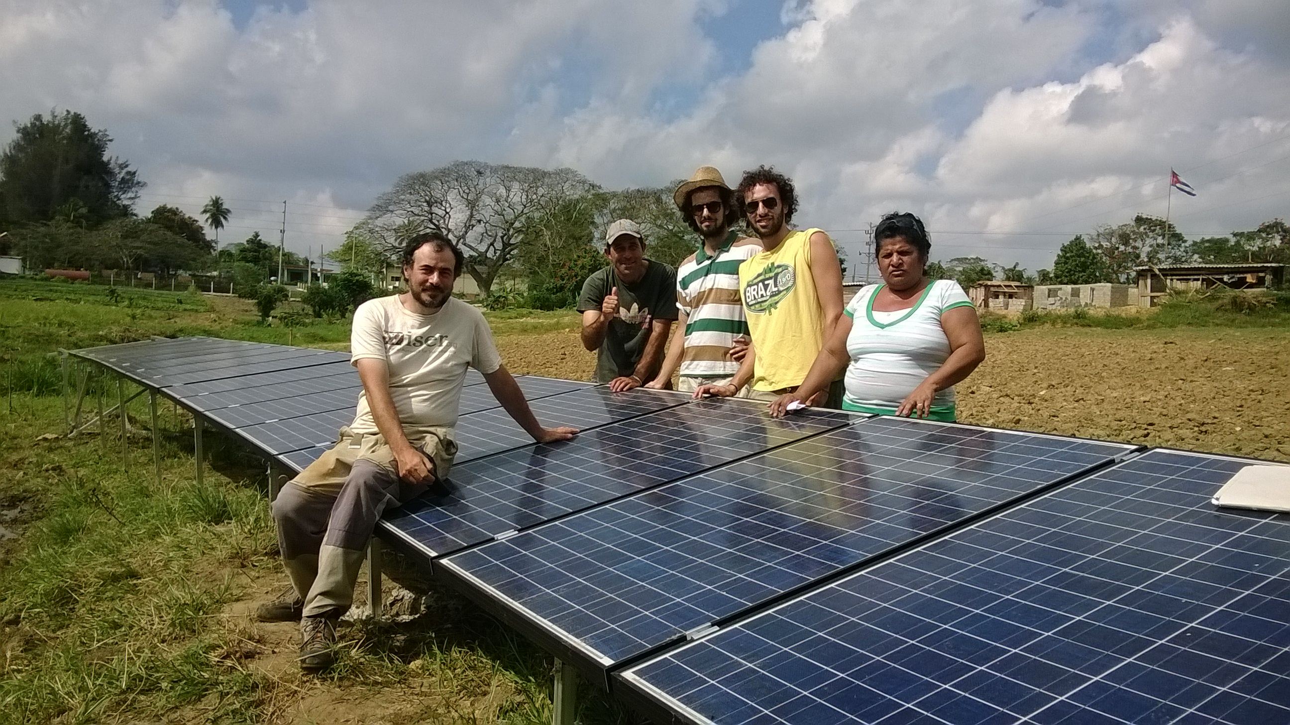 Irrigazione solare a Cuba (ARCS)